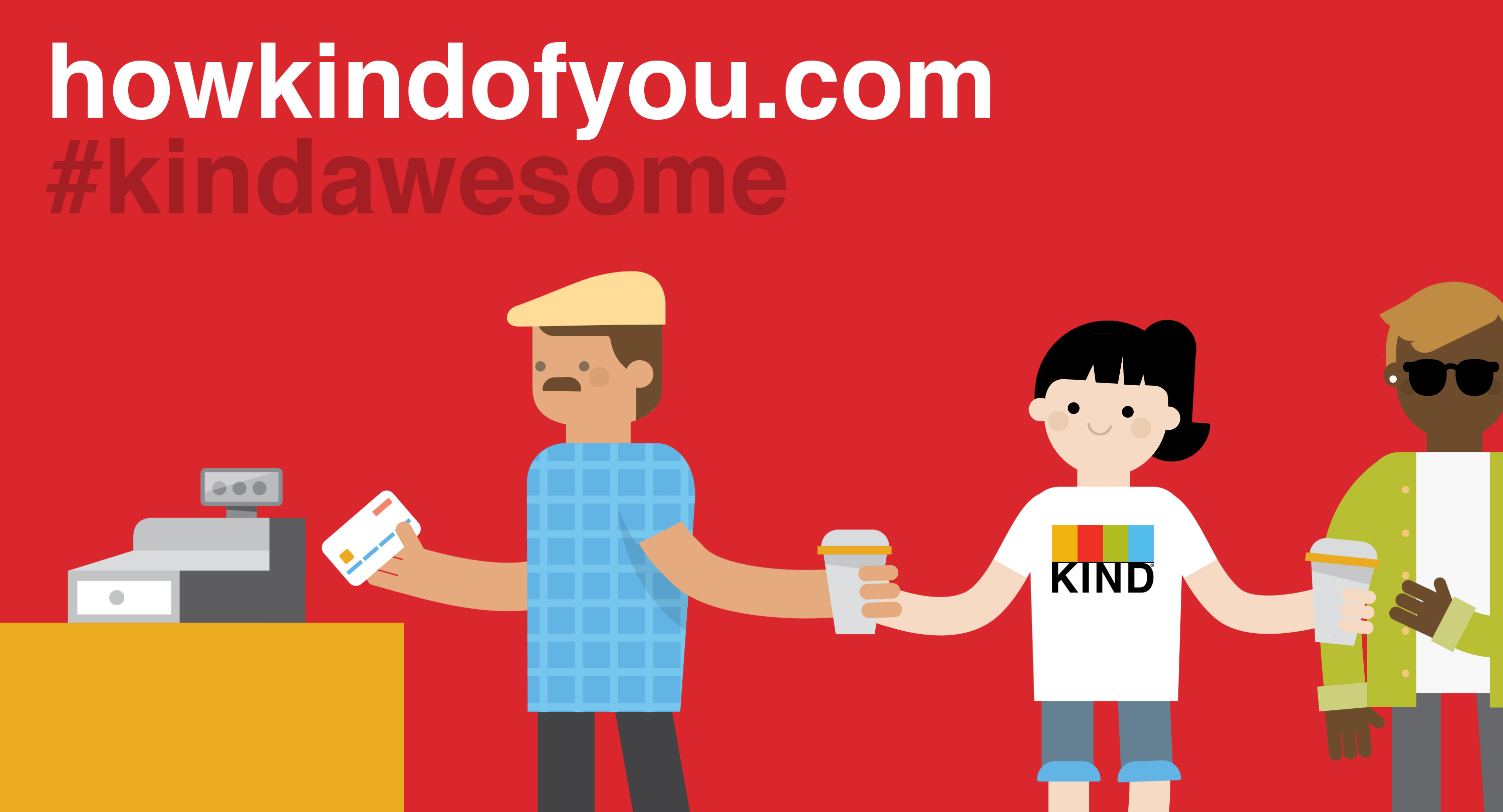 Starting Today: Spot & Celebrate Kindness with #kindawesome
